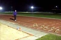 تمرینات کوتاه سرعتی دو و میدانی