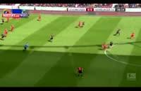 بایرلورکوزن ۴-۰ هامبورگ (خلاصه بازی)