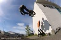 دوچرخه سواری با BMX در خیابون های ایسلند