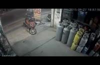 دزدین موتور در کمتر از 10 ثانیه!!!!