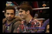 کمدی خنده دار علی ضیا و حسن ریوندی در یک برنامه تلویزیونی