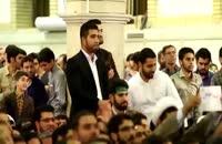 دیدار رهبر معظم انقلاب با شرکت کنندگان مسابقات قرآن