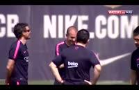 تمرین بارسلونا؛ آمادگی برای فینال جام حذفی