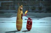 انیمیشن لاروا ماجرای روشن کردن آتش در سرما