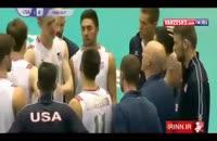 پیش بازی , بازی والیبال ایران  - لهستان