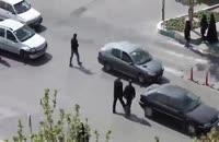 دوربین مخفی در اصفهان: جریمه عابر پیاده
