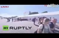 جنگنده های روس و غافلگیری خبرنگاران