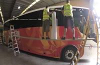 اتوبوس تیم های حاضر در جام ملتهای اسیا ۲۰۱۵