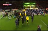جشن قهرمانی وولفسبورگ در جام حذفی