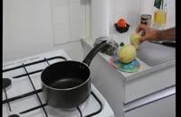 کلیپ آموزش آشپزی : طرز تهیه قرمه سبزی بدون گوشت