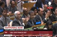 سخنان پاپ علیه گسترش سلاح های اتمی و واکنش ظریف