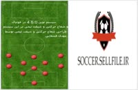 تمرین فوتبال - آموزش سیستم 4.6.0 نوین در فوتبال