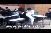 کتک خوردن سر کلاس هنگام خواب