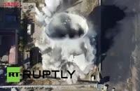 لحظه تخریب برج خنک کننده مرتفع