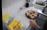 طرز تهیه نان سیر دار