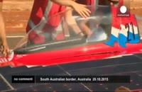 رقابت خودروهای خورشیدی در استرالیا
